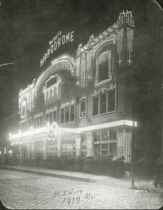 The HIppodrome, 1912, St. Louis