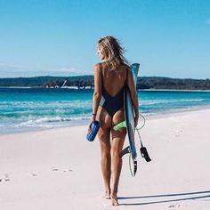 #surfergirls #beach #ocean #waves
