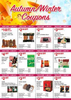 Ramen Soup, Weekly Specials, Short Cuts, Pharmacy, Coupons, June, Retail, Pixie Cuts, Coupon