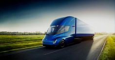 Another day, another record order for Tesla Semi. Tesla's new electric truck division just received a pre-order of 125 semi trucks from deli. New Tesla Truck, Tesla Electric Truck, Electric Cars, Tesla Motors, Elon Musk, Semi Trucks, Lithuania Travel, E Mobility, Automobile