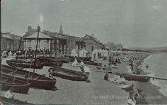 Early 1900`s B & R Postcard - THE BEACH AND TERRACE, WEYMOUTH, DORSET | eBay