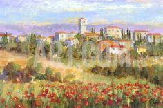 Tuscan Spring I Art Print by Michael Longo at Art.com