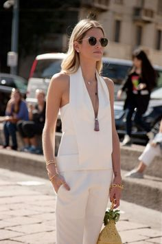 Street Style from Milan Fashion Week Spring/Summer 2014