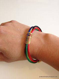 Olympic Ring Bracelet