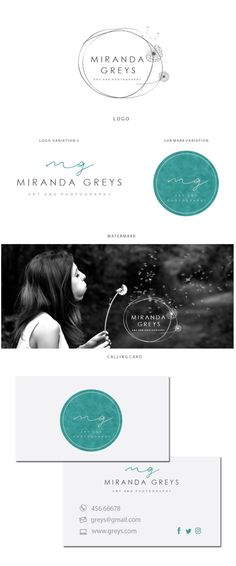 Branding kit logo design Silver logo design by JassnaDesign