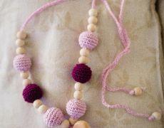 Colier alăptare Crochet Necklace, Jewelry, Fashion, Fine Dining, Moda, Jewlery, Jewerly, Fashion Styles, Schmuck