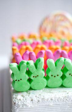 An Easter Peep Cake!