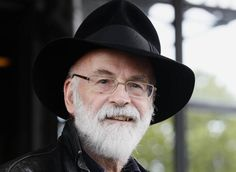 """LONDON (AP) — Fantasy writer Terry Pratchett, creator of the exuberant, satirical """"Discworld"""" series and author of more than 70 books, has died. He was 66.  Such a loss."""