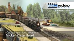 MRVP Layout Visit: Operating on Tony Koester's Nickel Plate Road | ModelRailroaderVideoPlus.com