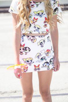 Powerpuff girls can look chic too :)