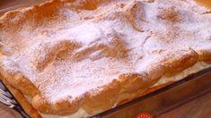 Veľhory: Úžasný dezert s vanilkovým krémom – chutí úplne ako veterník z cukrárne, ale je ešte stokrát rýchlejší! Pie, Food, Basket, Torte, Cake, Meal, Fruit Pie, Essen, Pai