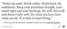 Motivation cofee