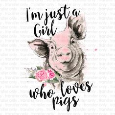Pet Pigs, Baby Pigs, Farm Animals, Cute Animals, Pig Art, Mini Pigs, This Little Piggy, Flying Pig, Watercolor Flowers