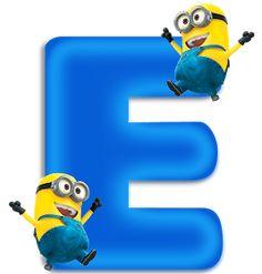 Minions Birthday Theme, Minion Party, 3rd Birthday, Princess Sofia Cupcakes, Alphabet Templates, Easter Garden, Minnie Png, Teaching The Alphabet, Birthday Frames