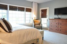 For the guest room.Mineral Deposit by Sherwin Williams Favorite Paint Colors: bedroom Home, Master Bedroom Makeover, Paint Colors, Room Color Design, Favorite Paint Colors, Family Room Colors, Bedroom Colors, Home Decor Furniture, Gorgeous Furniture