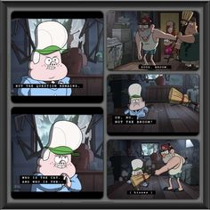 Tell me I'm not the only one who read this in both Gideon and Grunkle Stan's voices