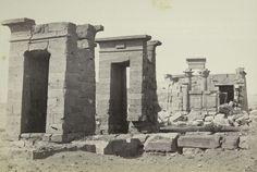 Templo egipcio de Debod in situ. Ahora en Madrid