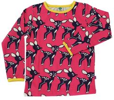Småfolk tröja LS deers rosa