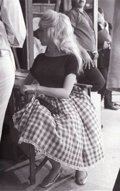 Bardot in gingham