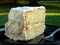 One-Bowl Yellow Cake (100 year old recipe)