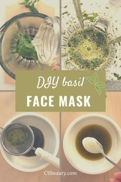 Have you ever thought of basil as a natural ingredient for your DIY beauty recipes? Discover how to create an anti-aging mask based on basil and yogurt in minutes. a face mask suitable for all skin types and easy to make. how to fight premature aging with natural remedies from your balcony. #DIYfacemask #homemadefacemask #homemaderemedies
