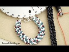 How to Braid Beaded Kumihimo with Long Magatama Beads