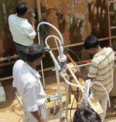 A child dies every 48 seconds due to waterborne illnesses. The UN declared 2013 International Year of Water Cooperation, reporting that 2.5 billion people lack access to  basic sanitation. WaterStep's solution empowers collaboration in both development  and disaster situations, providing safe water and sanitation remedies. The M-100's  byproducts, chlorine and sodium hydroxide, can be used in first aid and kill mosquito  larvae to enhance community stability. #reuse #resources #recycle
