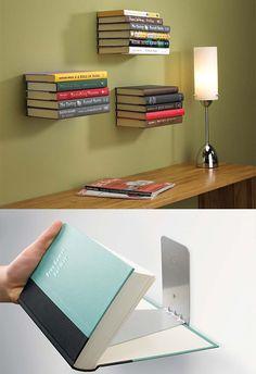 Décorer les murs ou ranger de façon originale nos livres – à vous de choisir