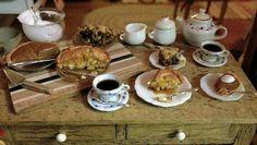 Miniature pie & coffee