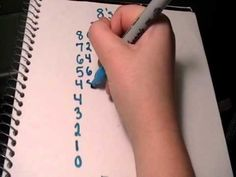 8 Times Table Trick - YouTube