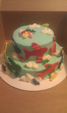 Airplane Cake Airplane Cakes, Torte Cake, Birthday Ideas, Beans, Party Ideas, Desserts, Kids, Food, Tailgate Desserts