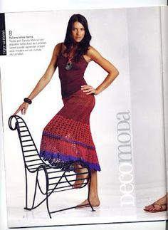 Croche e trico da Fri, Fri´s crochet and tricot: Juni 2012