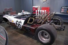 1966 Jim Gall's (#66) Chaparral - Petroleum Museum