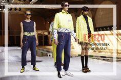 #pfw #fashion #Paris #FashionWeek #Homme #SS17: #Kenzo #menswear
