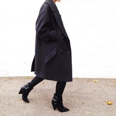 Isabel Marant Andrew Boots and Isabel Marant Pour H&M Coat