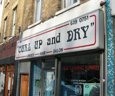Funny Beauty Salon Signs Business Names