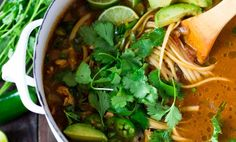 Mexican Chicken NoodleSoup Recipe - Relish