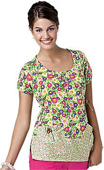 7c1ca59e730 Another Mary Engelbreit scrub top from Lydia's Uniforms. Uniform Advantage, Medical  Scrubs, Mary