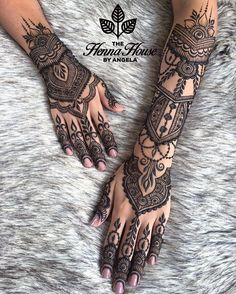 """7,023 Likes, 54 Comments - Indian Wedding Buzz (@indianweddingbuzz) on Instagram: """"What a beautiful mehndi design by @hennabyang  _______________________________…"""""""
