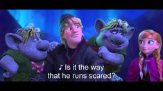 """Disney Frozen Fixer Upper HD (The Trolls) Love the life lesson Disney teaches us if we are open to learn!  """"Everyone's a bit of a fix'r up'r! True love brings out the best!"""""""