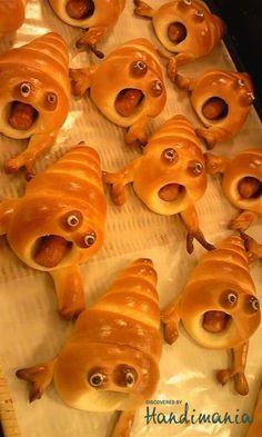 Scared snails