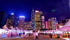 #HongKong's world-renowned Wine & Dine Festival changed locations to a dazzling new harbourfront location in Central for 2013