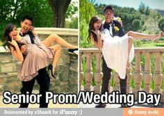 Such a cute idea! Love retaking old photos