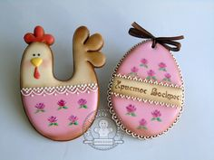 (99) Одноклассники Fancy Cookies, Cute Cookies, Cupcake Cookies, Cupcakes, Easter Cookie Recipes, Easter Cookies, Biscotti Cookies, Iced Cookies, Easter Biscuits