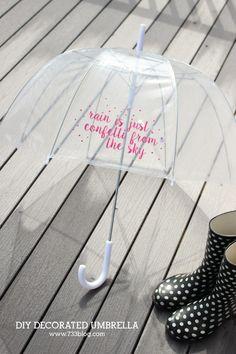 """""""Rain is just confet"""