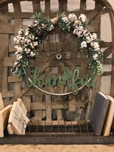 says wreaths have to be made with grapevine or mesh? I prefer an old bike wheel, cotton and some rusty character for my front door. This bicycle wheel wreath is simple to recreate with the tutorial by Junque 2 Jewels Bicycle Wheel Decor, Wagon Wheel Decor, Bicycle Rims, Old Bicycle, Old Bikes, Bike Wheels, Diy Wreath, Wreaths, Tire Art
