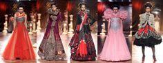 avant garde indian runway fashion design