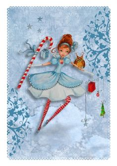 Peppermint Christmas ~ Caroline Bonne-Muller