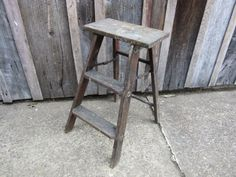 old rickety step ladder - Google Search