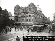The Queen Victoria Building, Sydney.  Construction started 1898
